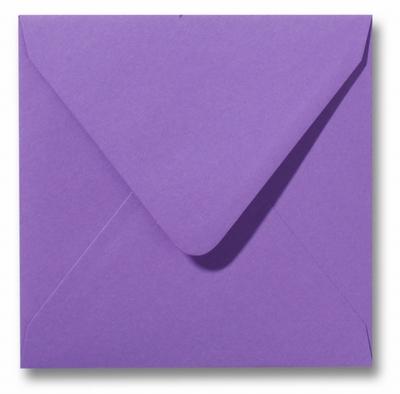 20 Envelop 14x14 cm Roma Paars