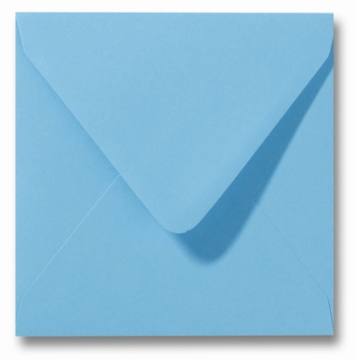 27 Envelop 14x14 cm Roma Oceaanblauw