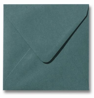 31 Envelop 14x14 cm Roma Donkergroen