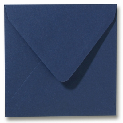 33 Envelop 14x14 cm Roma Donkerblauw