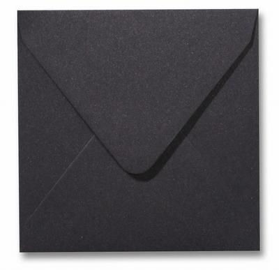 19 Envelop 14x14 cm Metallic Dark