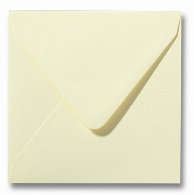 07 Envelop 16x16 cm Roma Zachtgeel