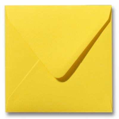 23 Envelop 16x16 cm Roma Boterbloemgeel