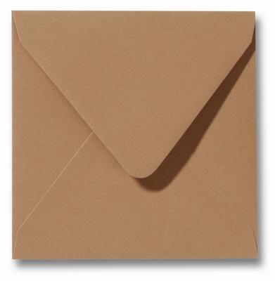 28 Envelop 16x16 cm Roma Bruin