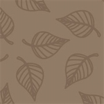 783 Fantasia, papier A4 210x297mm, 5 vel, Blad Bruin