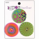 Button Sensations 3x Brights 3,4 cm
