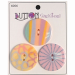Button Sensations 3x Pale 3,4 cm