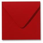 09 Envelop 14x14 cm Fiore Rood