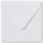 01 Envelop 14x14 cm Metallic Extra White