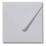 02 Envelop 14x14 cm Metallic White