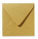 07 Envelop 14x14 cm Metallic Gold