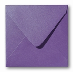 09 Envelop 14x14 cm Metallic Violet