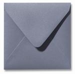05 Envelop 14x14 cm Metallic Silver