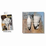 Powertex Egyptian Pharao 9cm x2