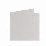 02 Metallic Dubbele kaart 13x13 CM Ivory