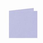 19 Dubbele kaart 13x13 CM Roma Lavendel