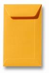 10 Envelop 6,5x10,5 cm (loonzakje) Roma Goudgeel