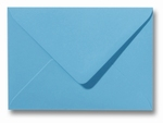27 Envelop 9x14 cm Roma Oceaanblauw