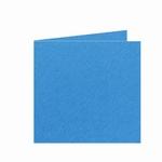 08 Dubbele kaart 13x13 CM Fiore Blauw