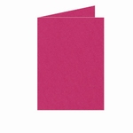 17 Dubbele kaart Staand 10,5x15 CM Roma Fucsia p.st.
