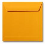 10 Envelop 17x17 cm Roma Goudgeel