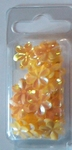 Bloempailetten 15mm geel ca. 3,3 gram