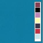 40 Linnenkarton 305x305 mm 10 vel  Turquoise