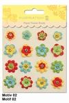 URSUS Paper Flower Brads, Motief 02