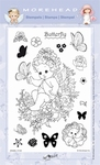Clearstamp Morehead,  Angel Butterfly, 10x15 cm