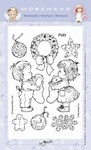 Clear Stamp Morehead, Kerst Pets, 10x15cm