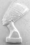 Gipsvorm egyptisch Vrouw