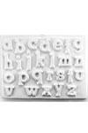 Gipsvorm alfabet