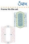 Sizzix Framelits die set 3pk frame, ironwork