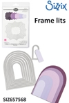 Sizzix Framelits Die set 8pk rounded tags