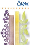 Sizzix Sizzlits decorative strip die card edges decorative