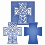 Spellbinders Die D-Lite S2-054 Filigree Cross