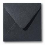 14 Envelop 16x16 cm Metallic Black