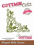 CottageCutz Elegant Holly Corner (Elites) (CCE-035)