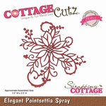 CottageCutz Elegant Poinsettia Spray (Elites) (CCE-036)