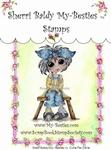Cutie Pie Olivie Clear Rubber Stamp