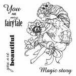 Set Of Clear Stamps 10,5x10,5 cm Fairy Tale You Are My Fairy