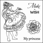 Set Of Clear Stamps 10,5x10,5 cm Fairy Tale Make A Wish