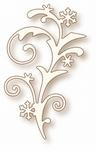 Specialty die - Snow Flourish