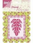 6003/0007 Cutting mal - Floral Flourishes - Blad