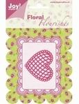 6003/0005 Cutting mal - Floral Flourishes - Hart