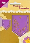 6002/0061 Cutting & Embossingstencil broekzakje set 2(punt)