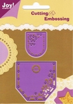 6002/0060 Cutting & Embossingstencil broekzakje set 1 (stomp