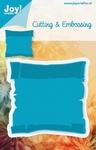 6002/0161 Cutting & Embossingmal - Blauwe mal - Perkamentrol