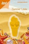 6002/0174 Cutting & Embossingmal - Summer Lovin - IJsco