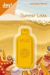 6002/0178 Cutting & Embossingmal - Summer Lovin - Fles Zonne